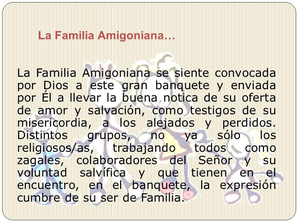 La Familia Amigoniana…