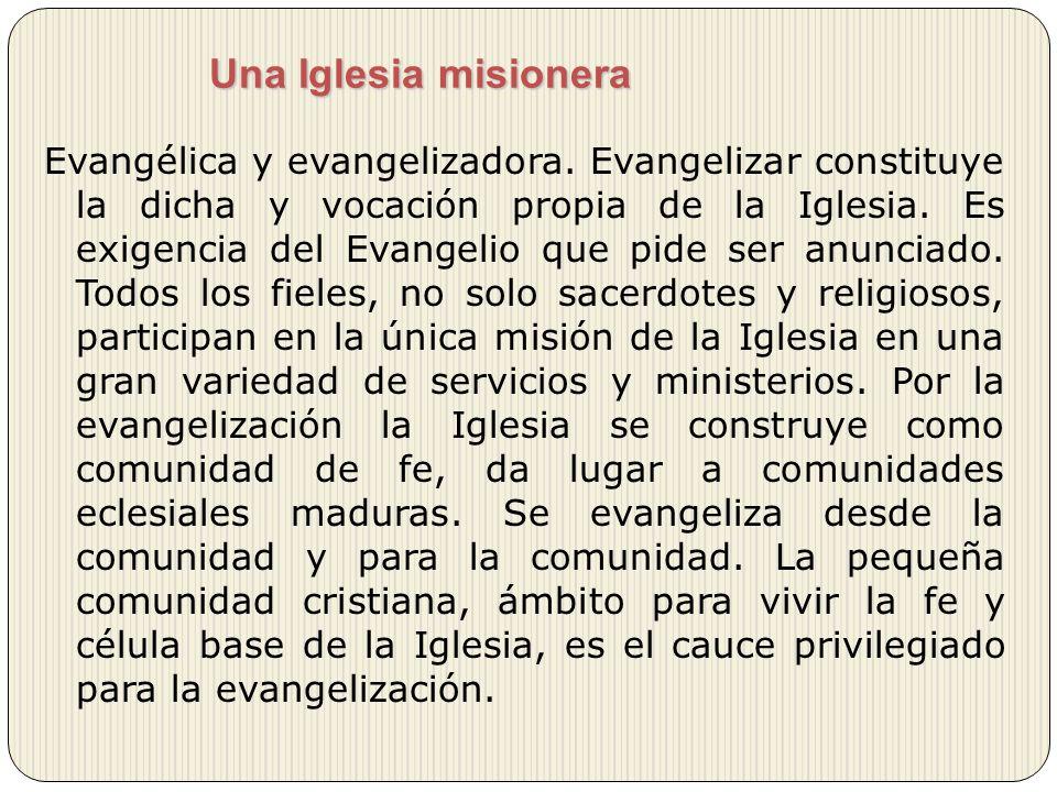 Una Iglesia misionera