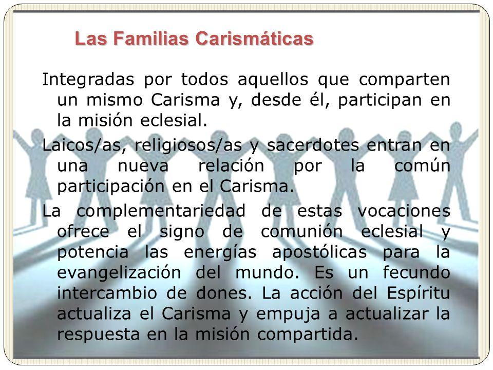 Las Familias Carismáticas