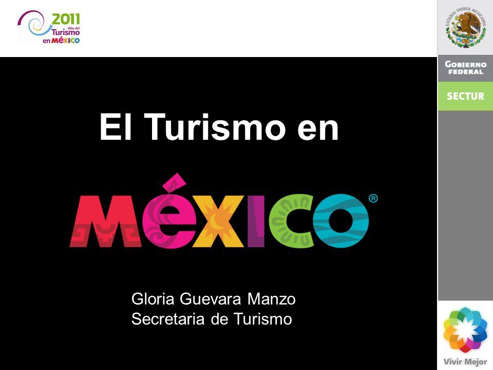 El Turismo en 2011 El turismo en México. Gloria Guevara Manzo