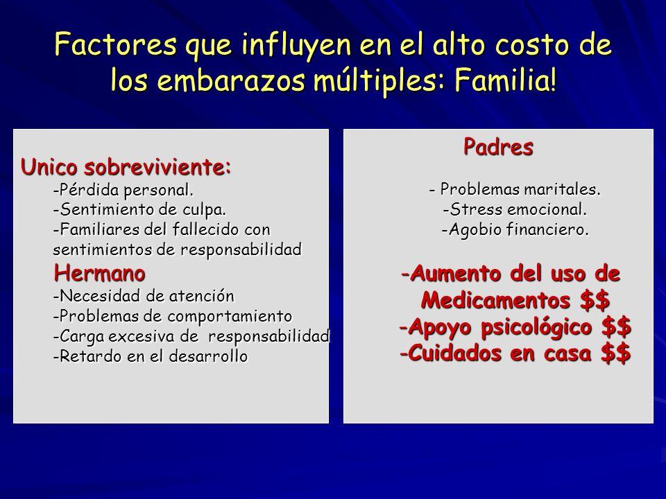 Factores que influyen en el alto costo de los embarazos múltiples: Familia!