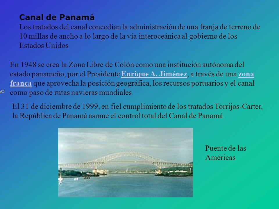 Canal de Panamá.