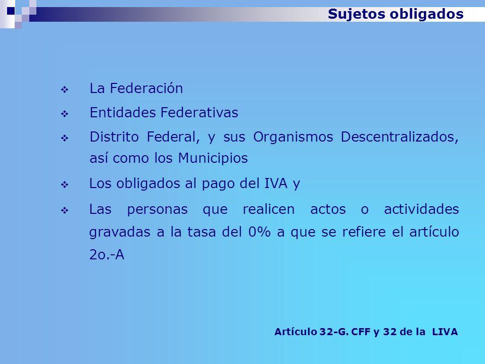 Entidades Federativas