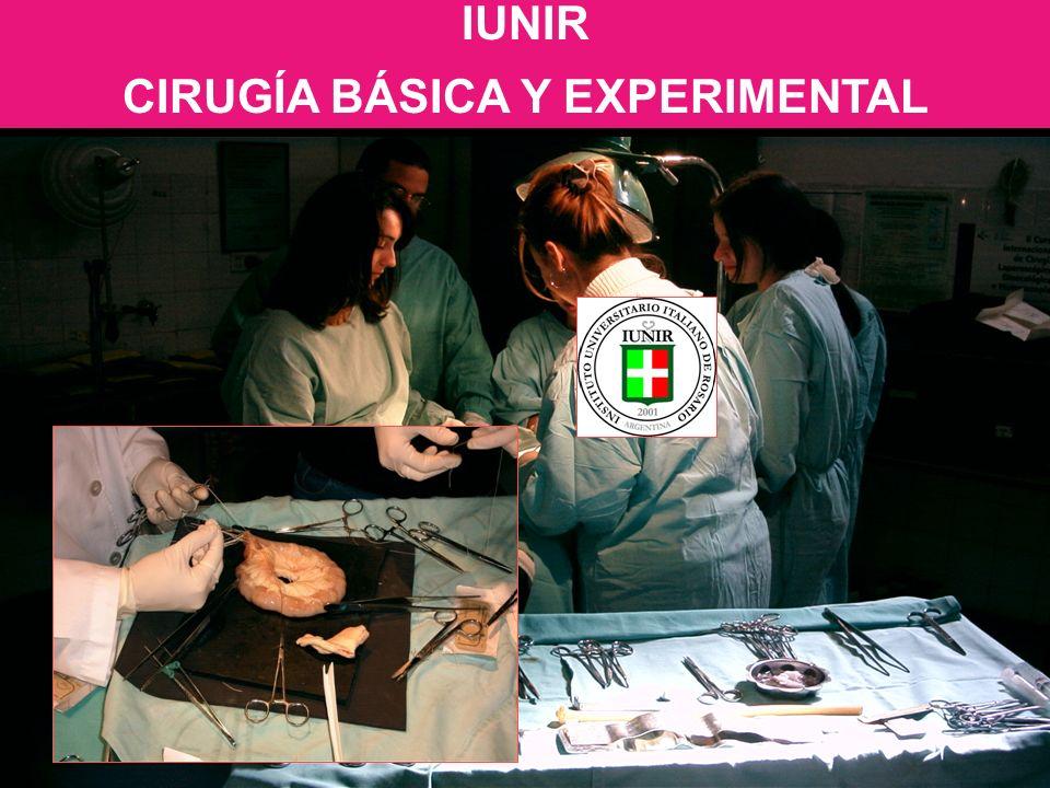CIRUGÍA BÁSICA Y EXPERIMENTAL