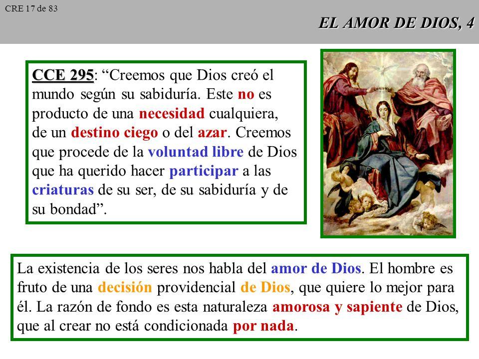 CCE 295: Creemos que Dios creó el