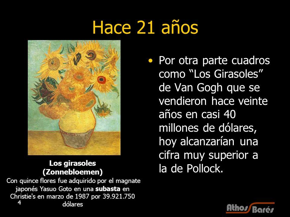 Los girasoles (Zonnebloemen)