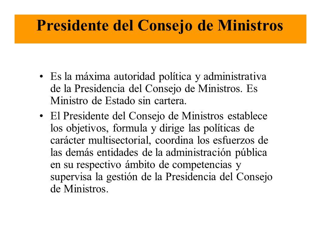 La estructura del estado peruano ppt descargar for Clausula suelo consejo de ministros