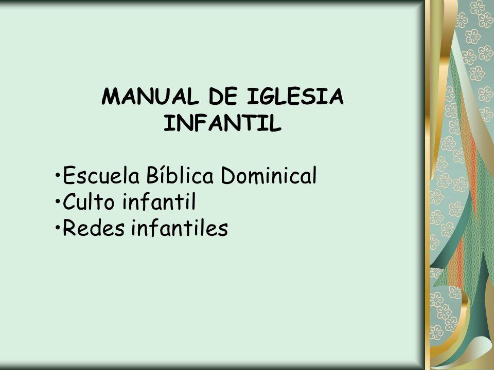 MANUAL DE IGLESIA INFANTIL
