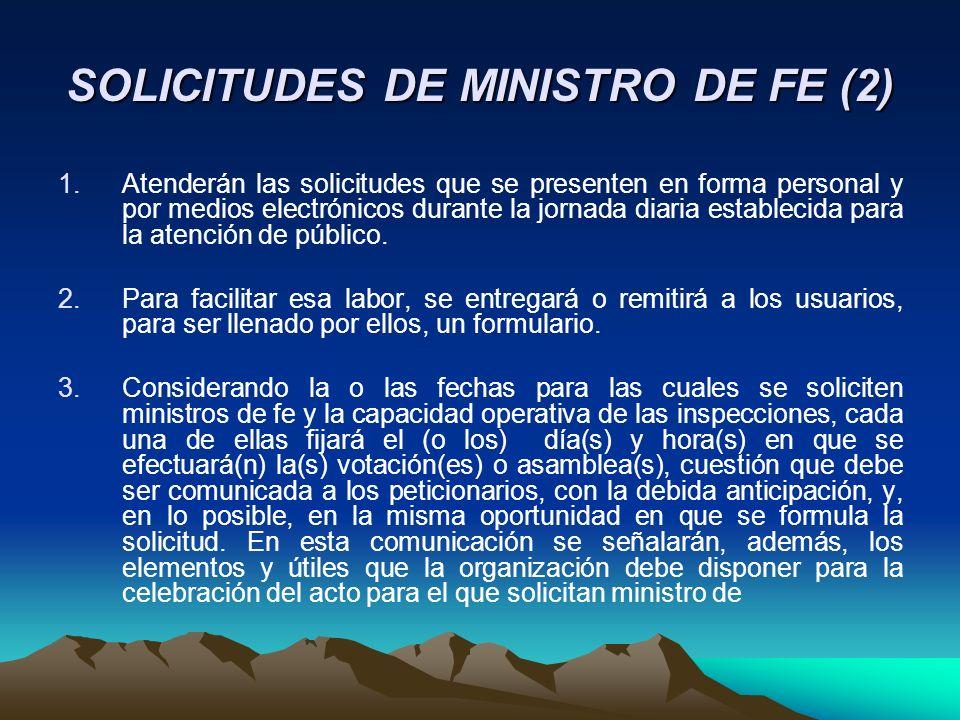 SOLICITUDES DE MINISTRO DE FE (2)