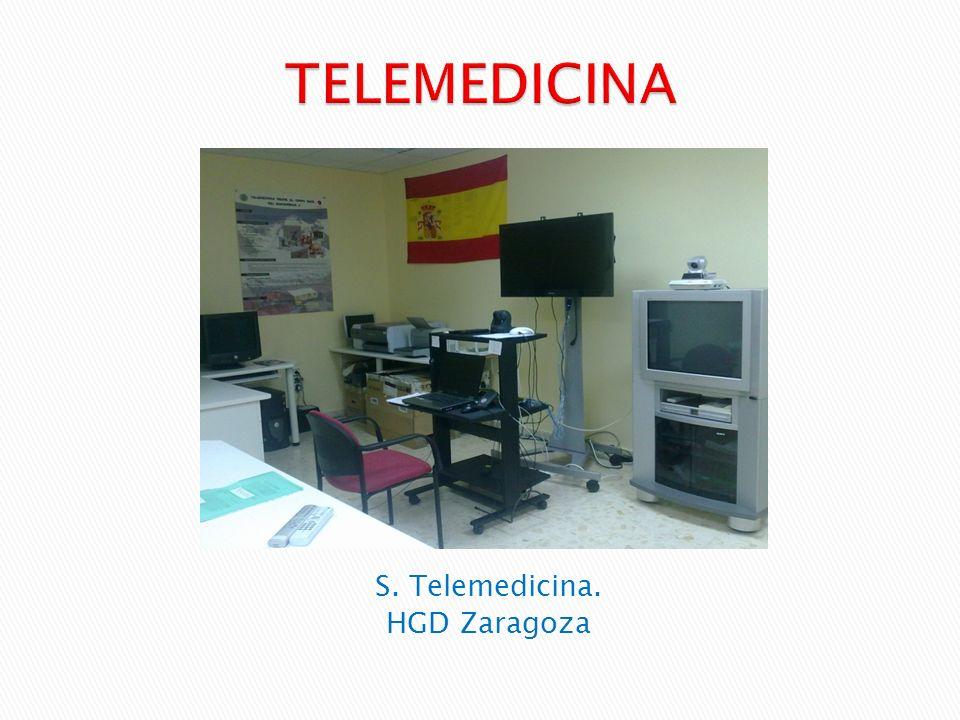 TELEMEDICINA S. Telemedicina. HGD Zaragoza