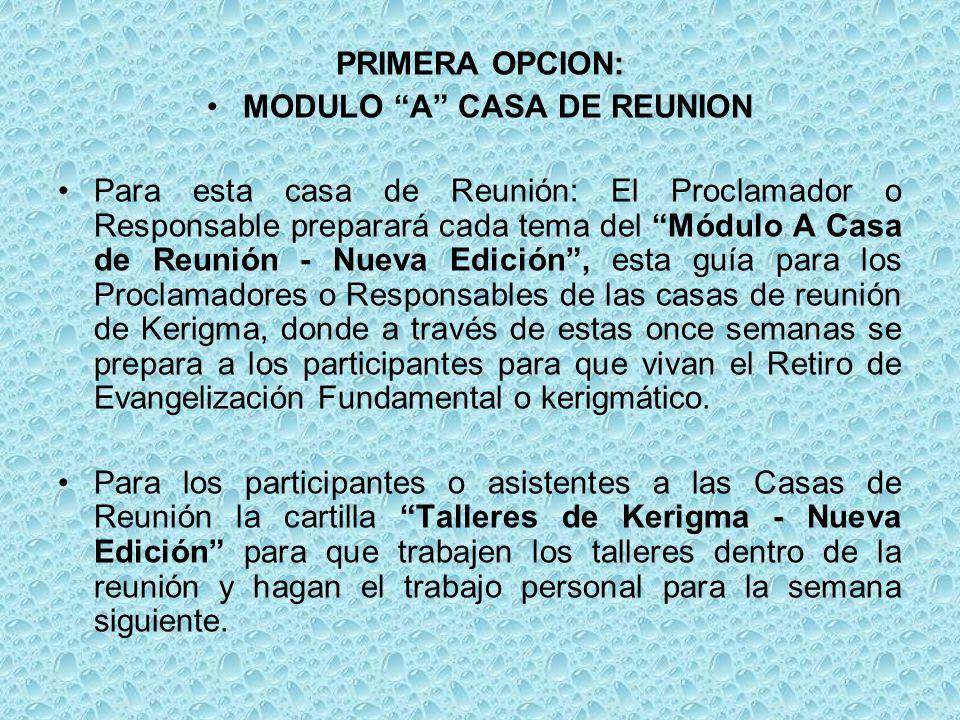MODULO A CASA DE REUNION