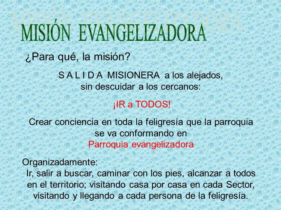 MISIÓN EVANGELIZADORA
