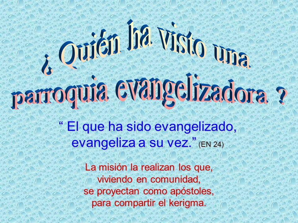 parroquia evangelizadora