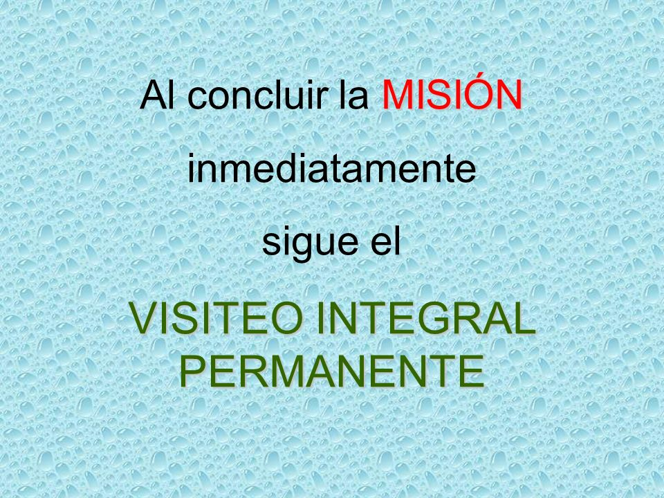 VISITEO INTEGRAL PERMANENTE