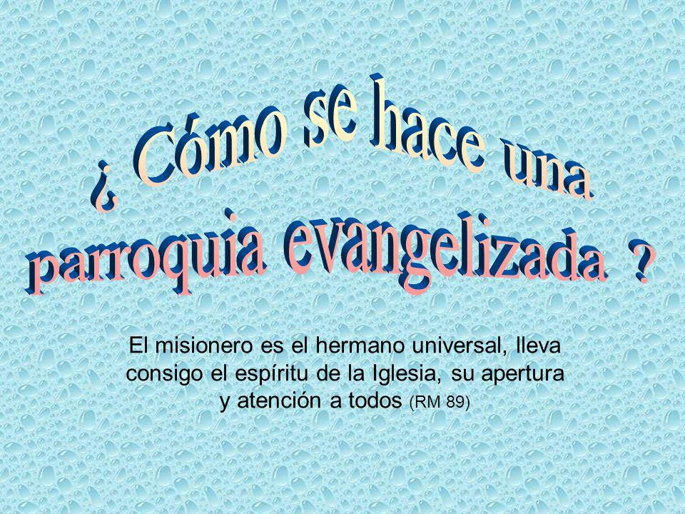 parroquia evangelizada