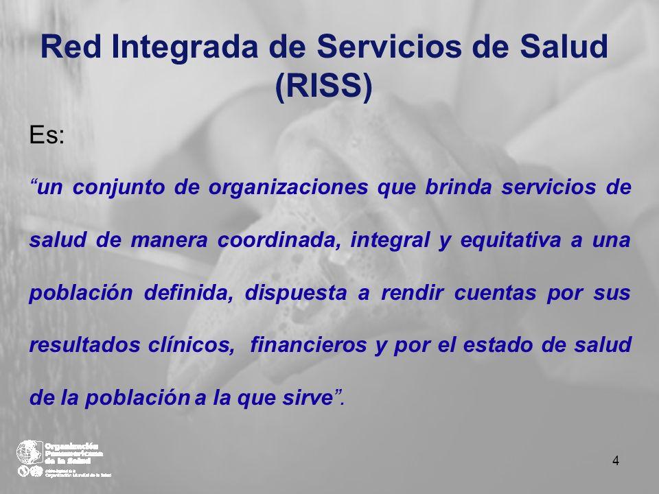 Red Integrada de Servicios de Salud (RISS)