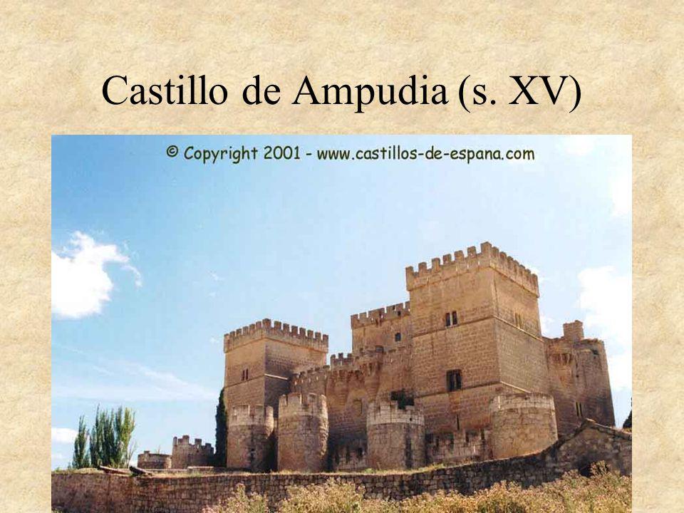 Castillo de Ampudia (s. XV)