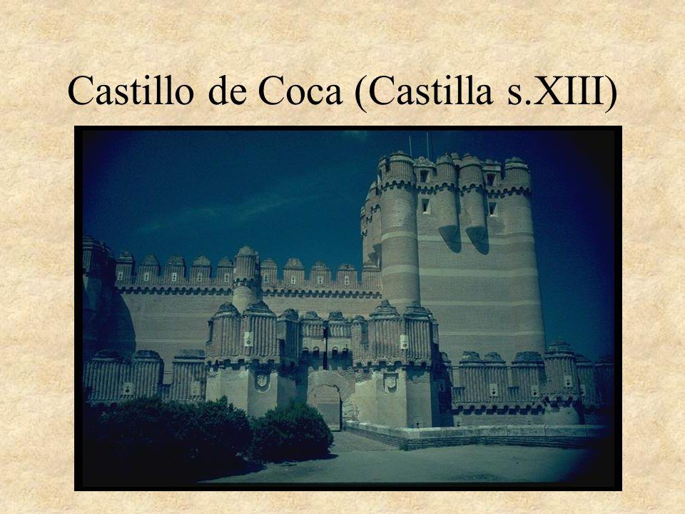 Castillo de Coca (Castilla s.XIII)