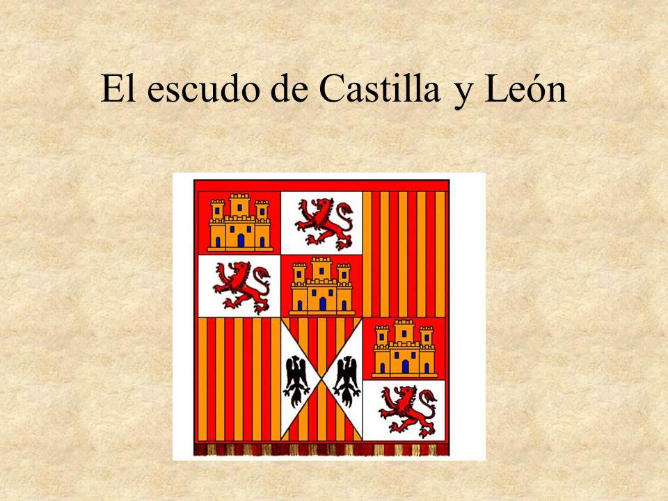 El escudo de Castilla y León