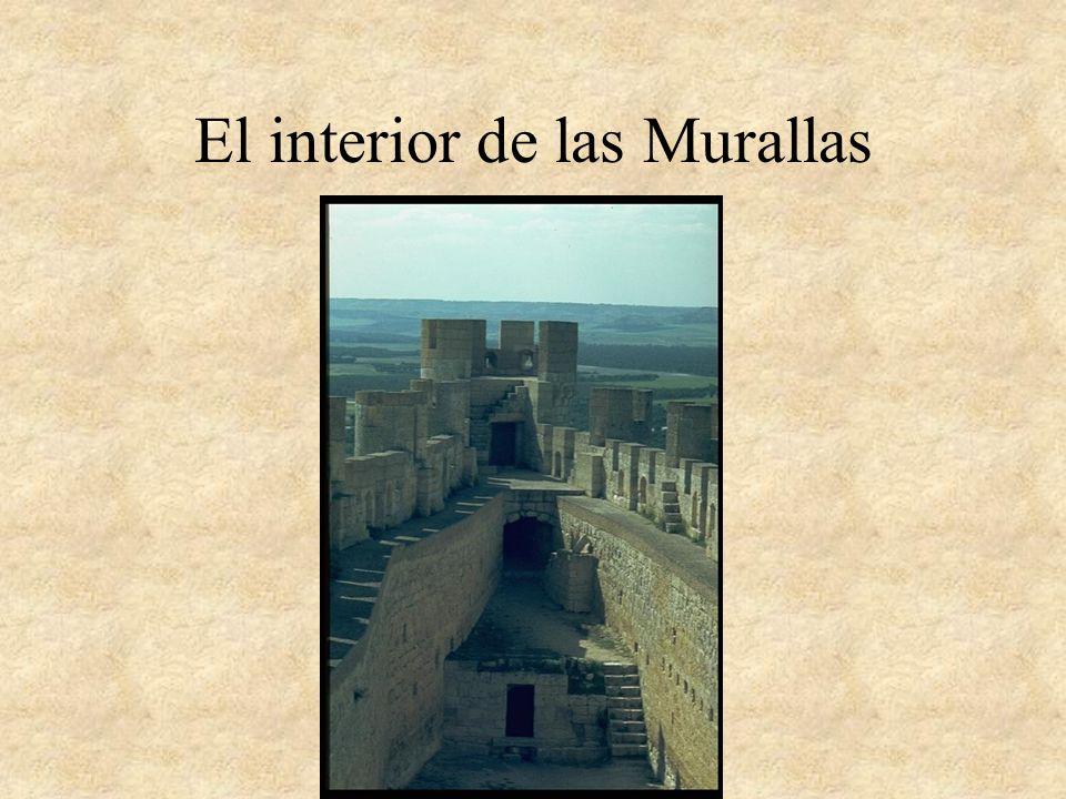 El interior de las Murallas