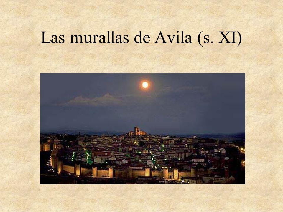 Las murallas de Avila (s. XI)
