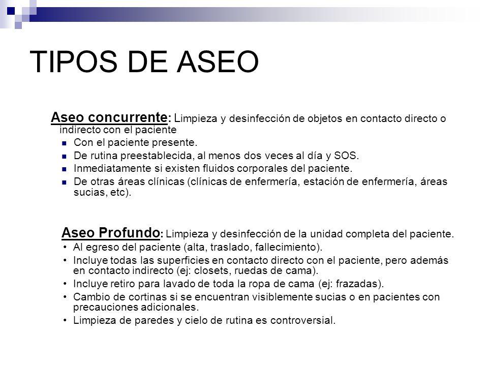 Aseo y desinfecci n hospitalaria ppt video online descargar for Manual de limpieza y desinfeccion para una cocina