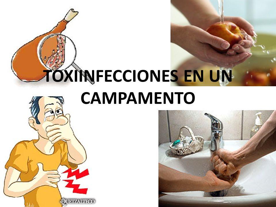 TOXIINFECCIONES EN UN CAMPAMENTO