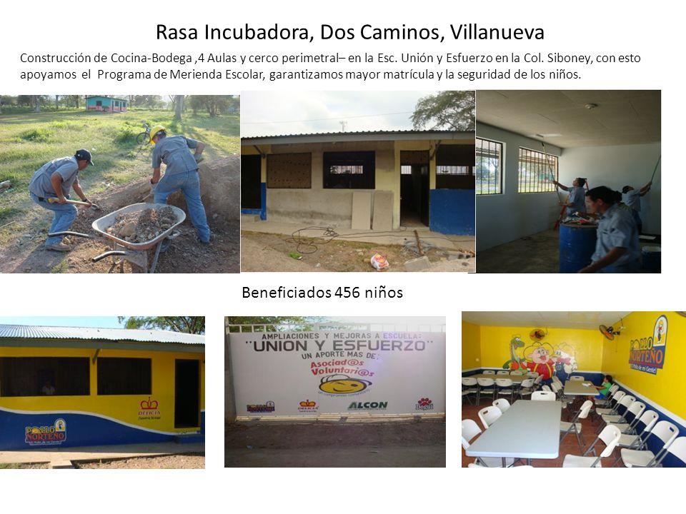 Rasa Incubadora, Dos Caminos, Villanueva