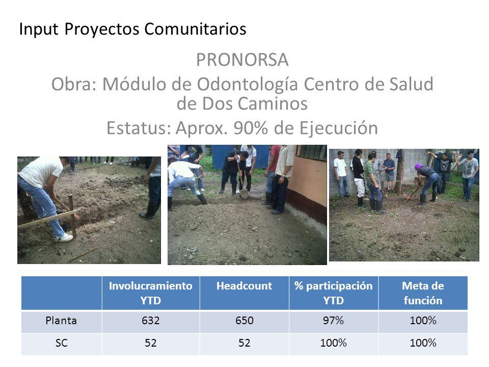 Input Proyectos Comunitarios