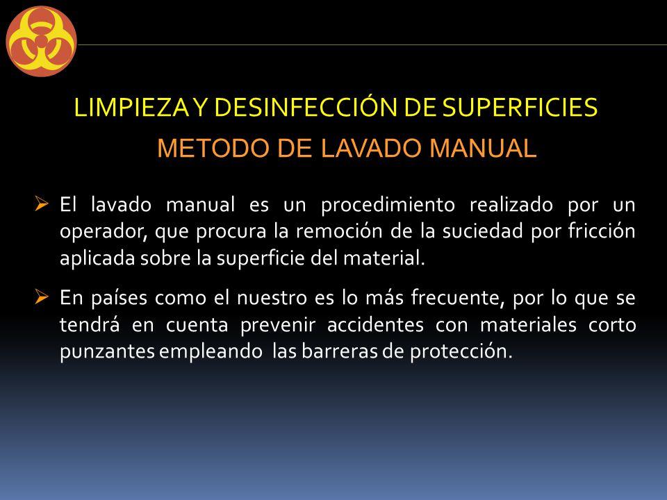 Bioseguridad en consultorios externos ppt video online for Manual de limpieza y desinfeccion en restaurantes