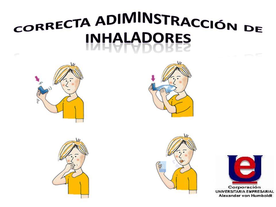 CORRECTA ADIMINSTRACCIóN DE INHALADORES