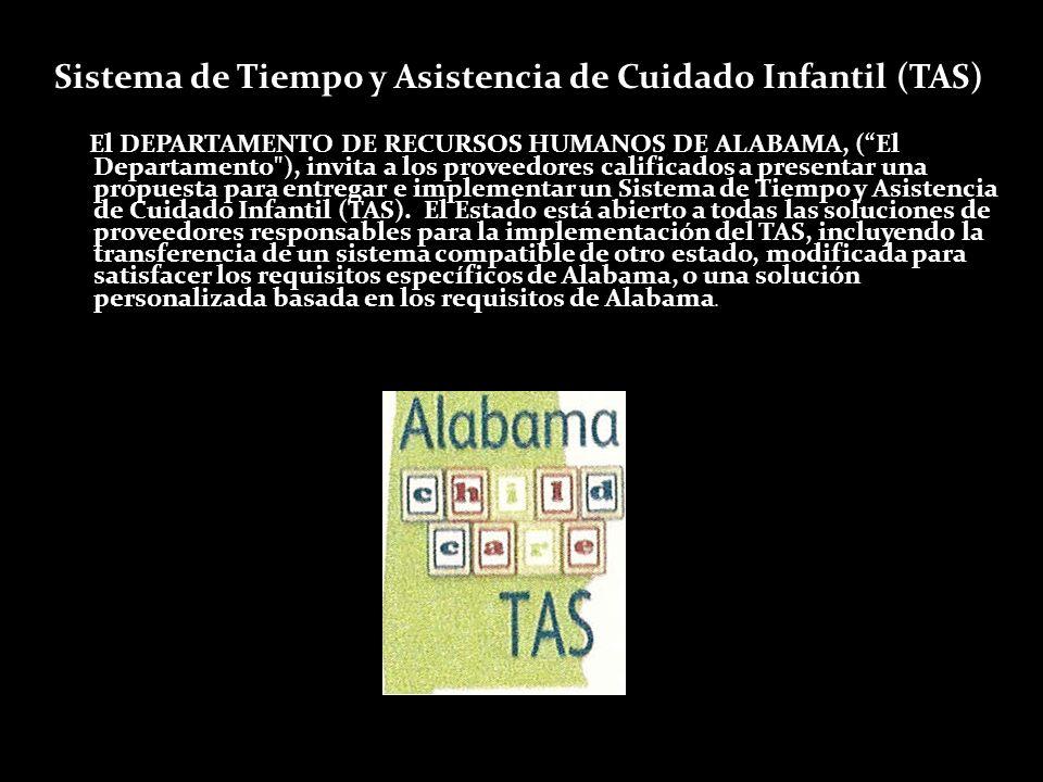 Sistema de Tiempo y Asistencia de Cuidado Infantil (TAS)