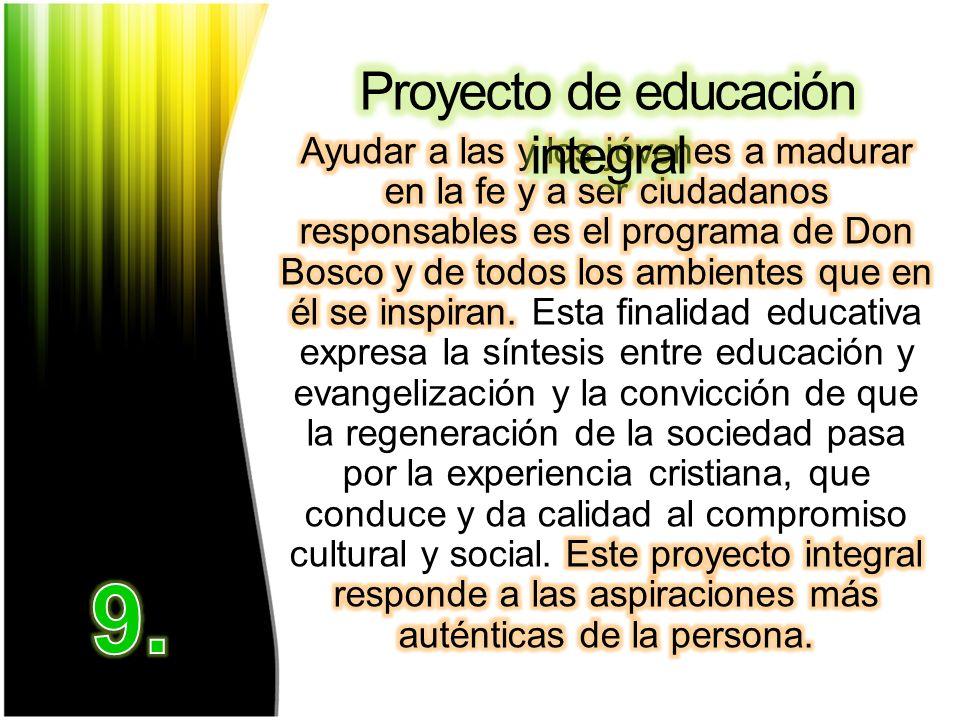 Proyecto de educación integral