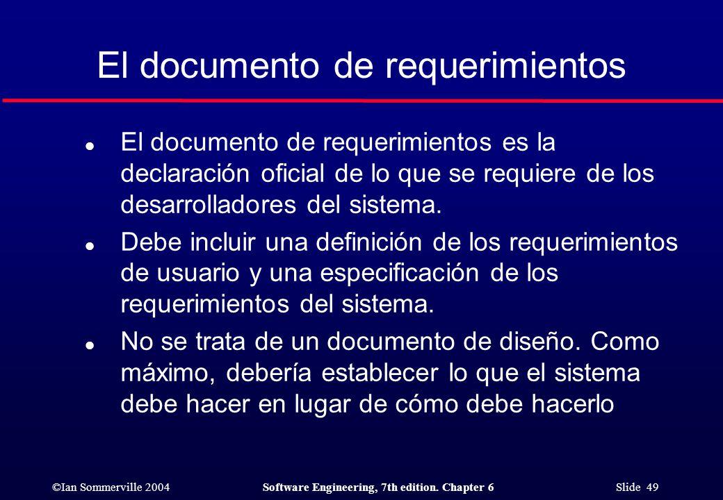 Requerimientos del software - ppt descargar
