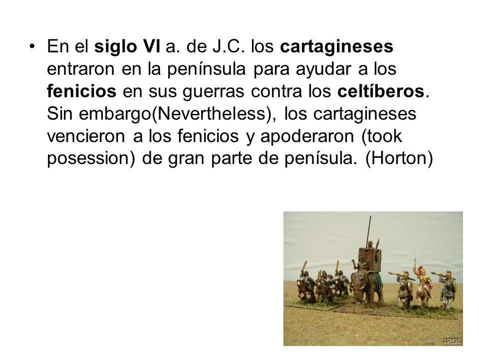 En el siglo VI a. de J.C.