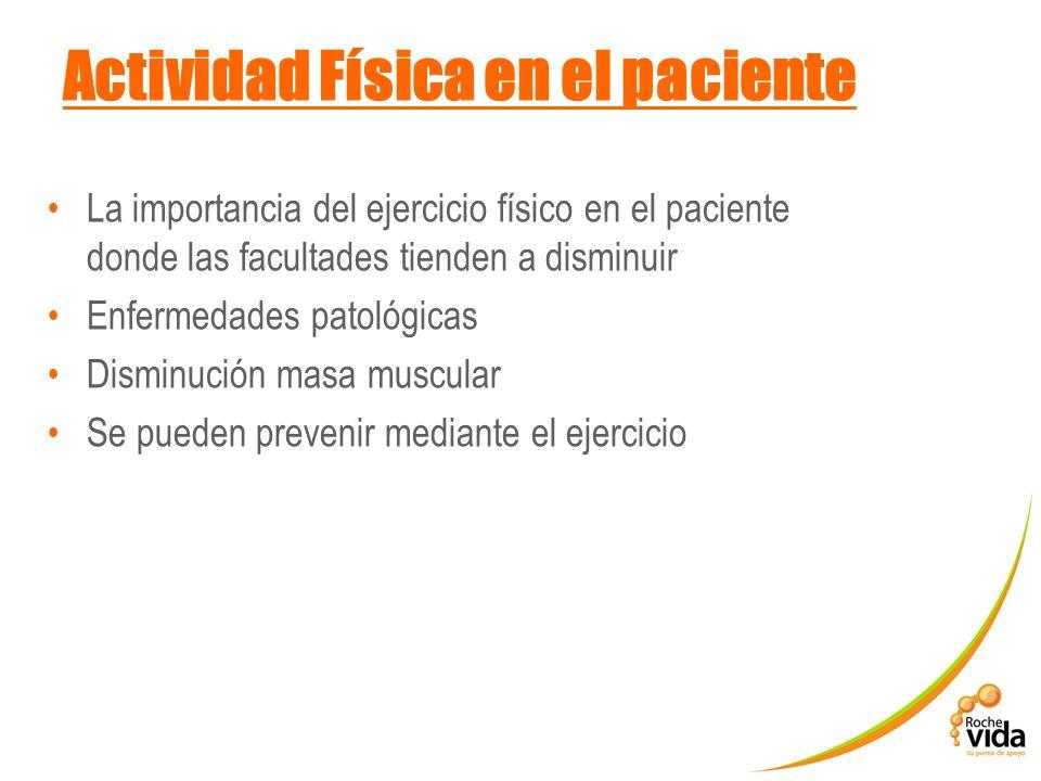 Actividad Física en el paciente