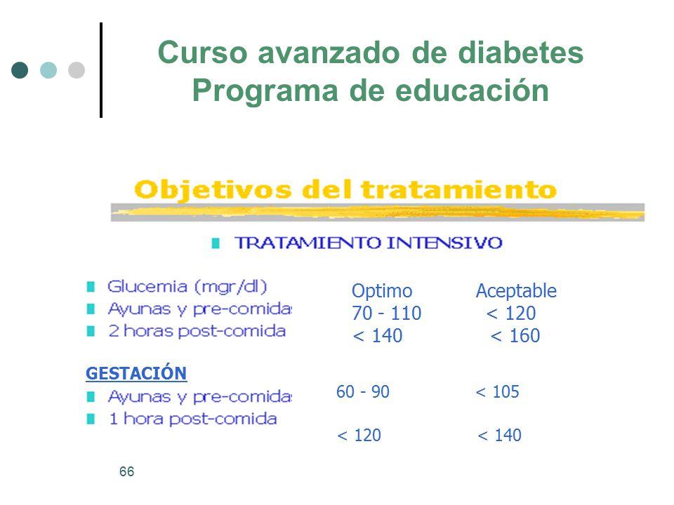 Curso avanzado de diabetes - ppt descargar