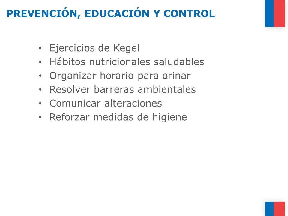 PREVENCIÓN, EDUCACIÓN Y CONTROL