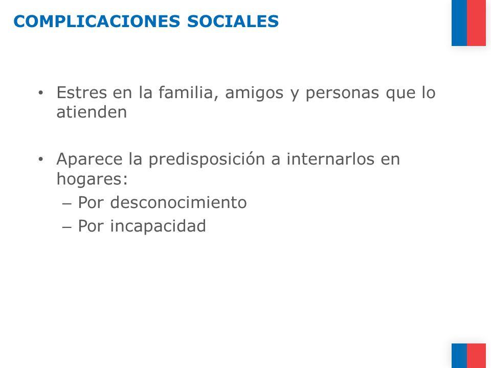 COMPLICACIONES SOCIALES