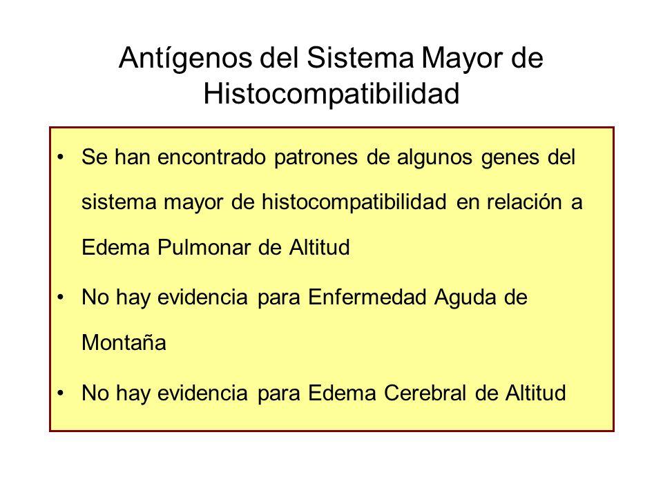 Antígenos del Sistema Mayor de Histocompatibilidad