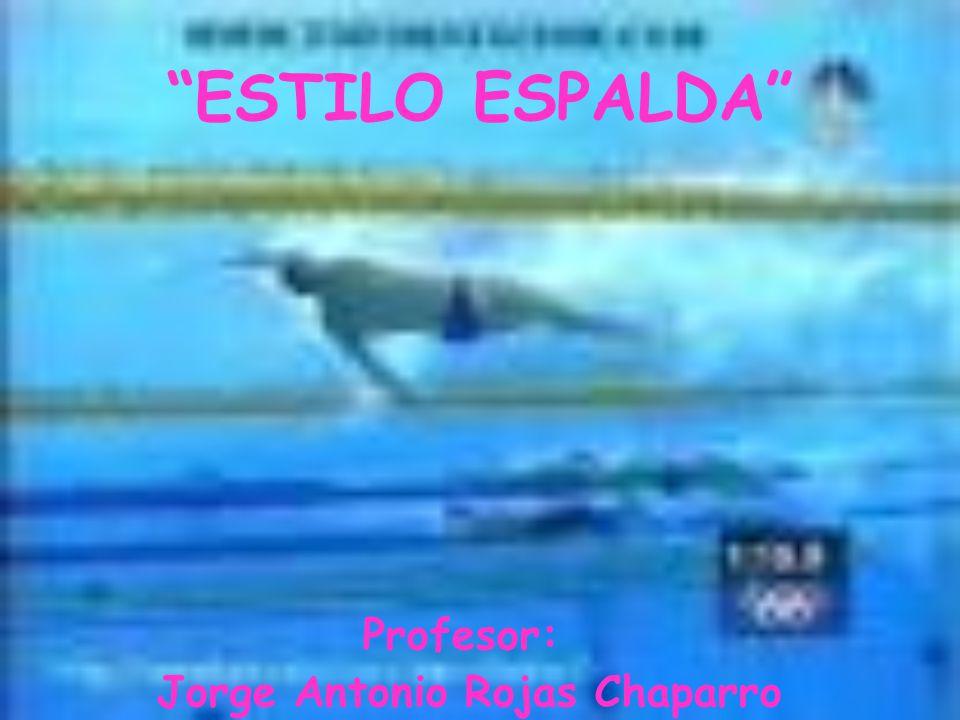 Profesor: Jorge Antonio Rojas Chaparro