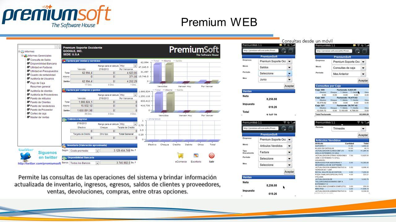 Premium WEB Consultas desde un móvil.