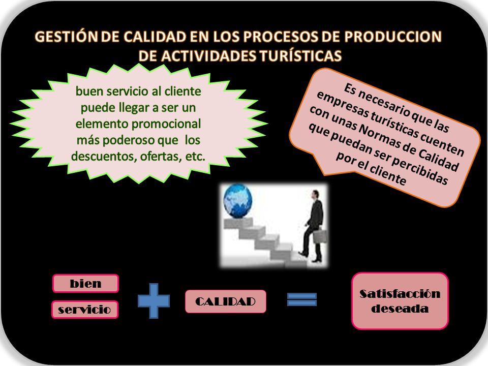 GESTIÓN DE CALIDAD EN LOS PROCESOS DE PRODUCCION