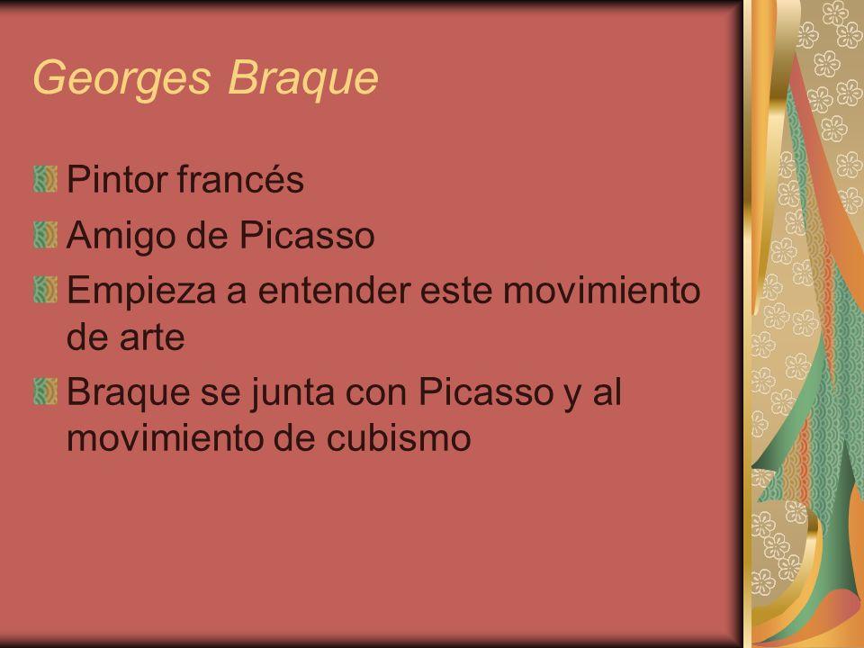 Georges Braque Pintor francés Amigo de Picasso
