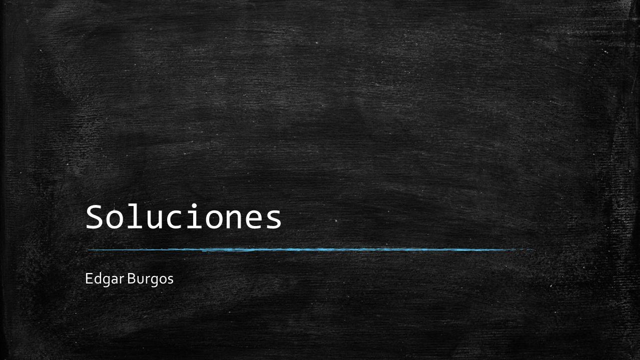 Soluciones Edgar Burgos