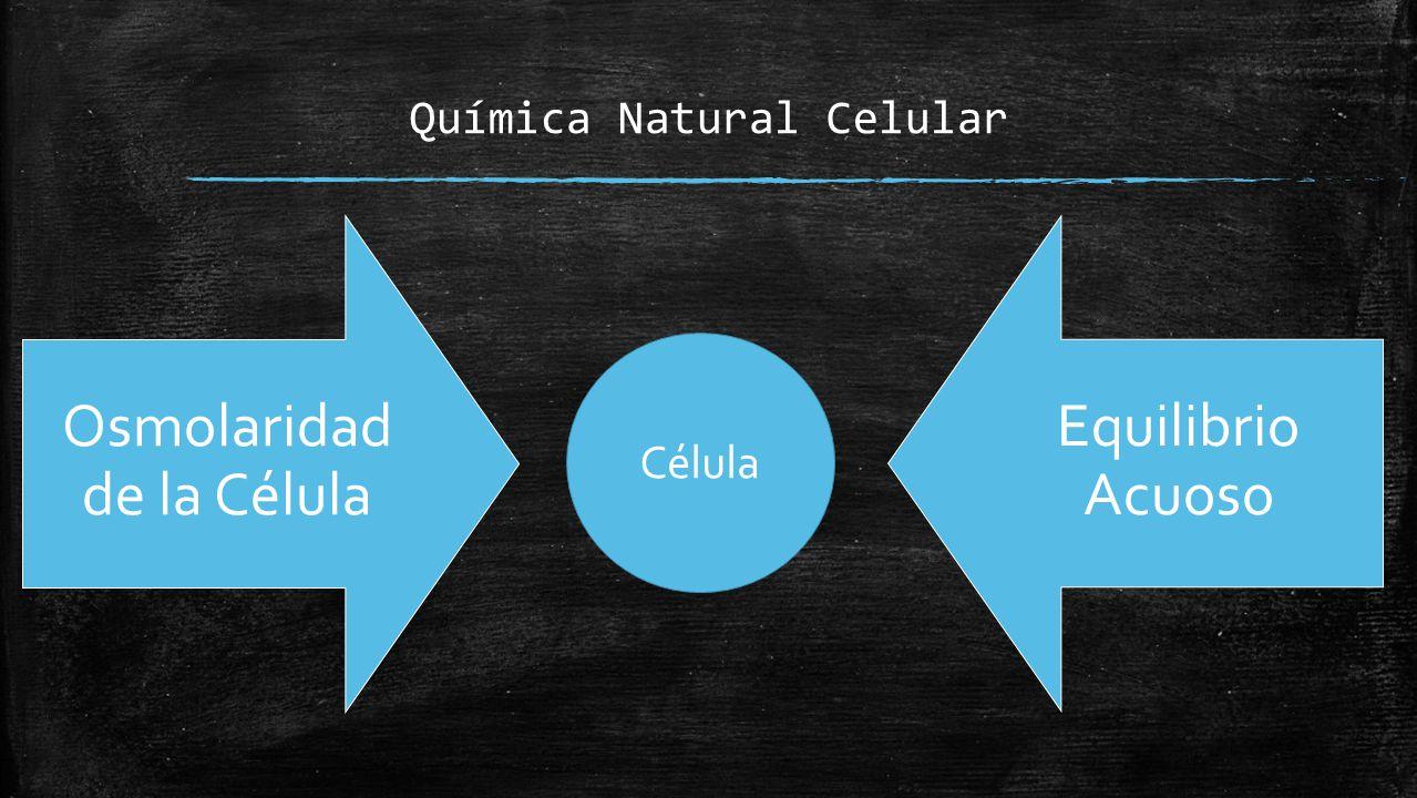 Química Natural Celular
