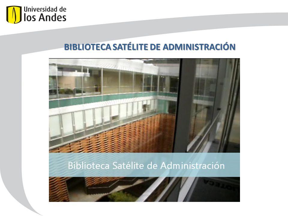 BIBLIOTECA SATÉLITE DE ADMINISTRACIÓN