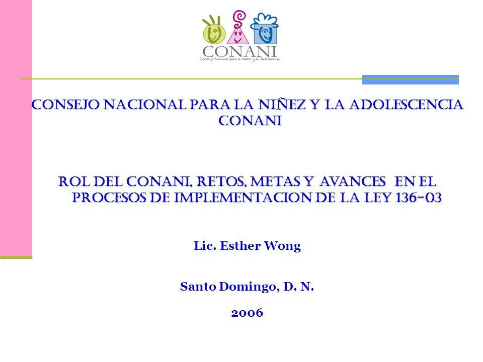 Consejo Nacional para la niñez y la adolescencia