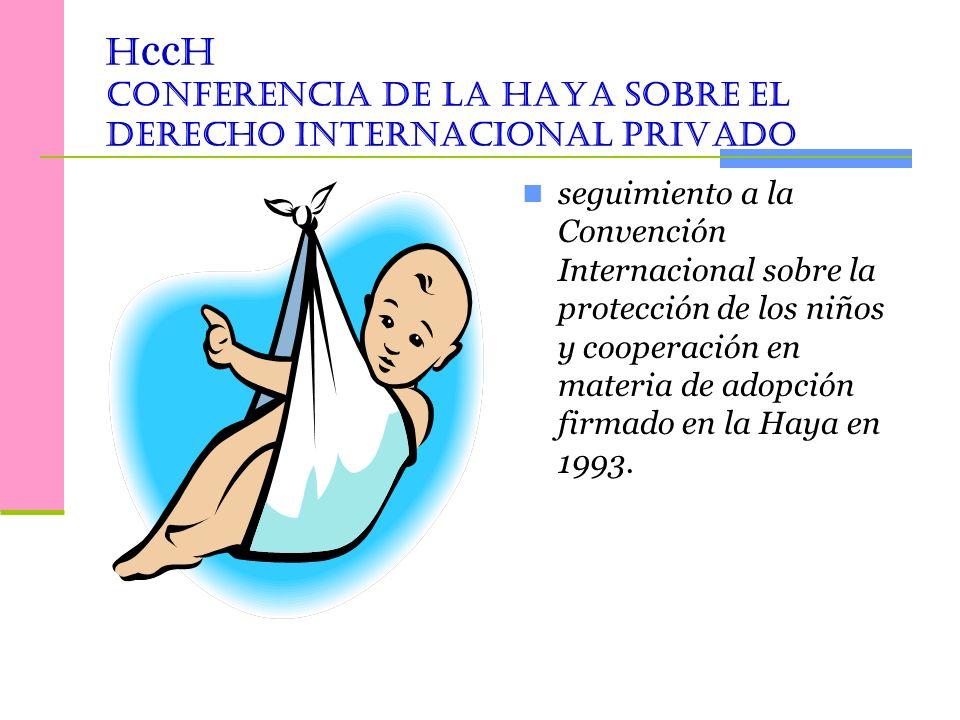 HccH Conferencia de la Haya sobre el Derecho Internacional Privado