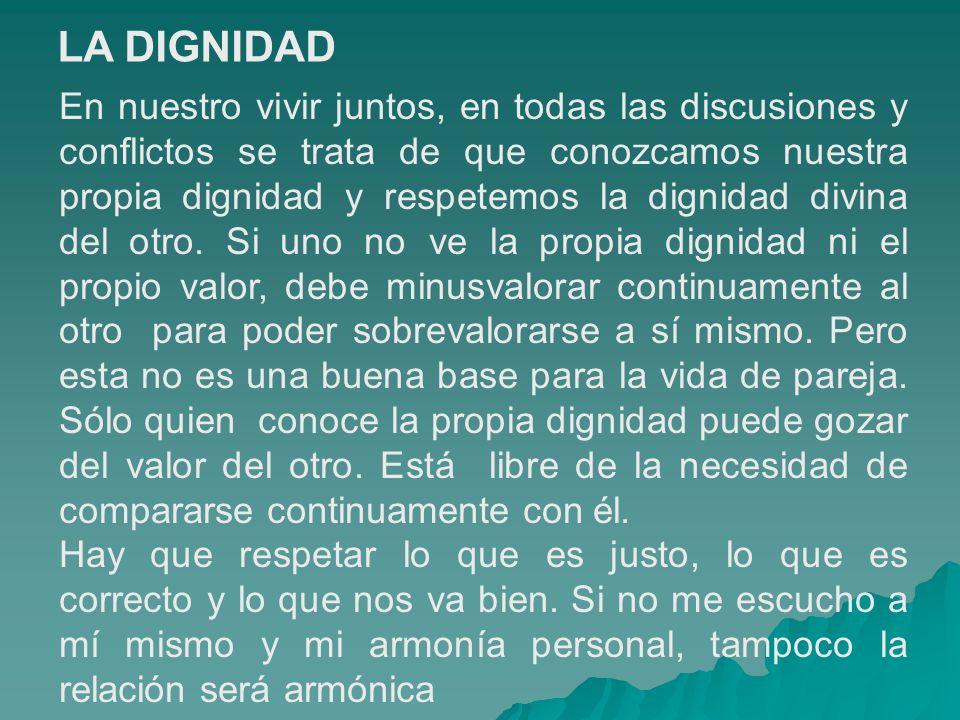 LA DIGNIDAD